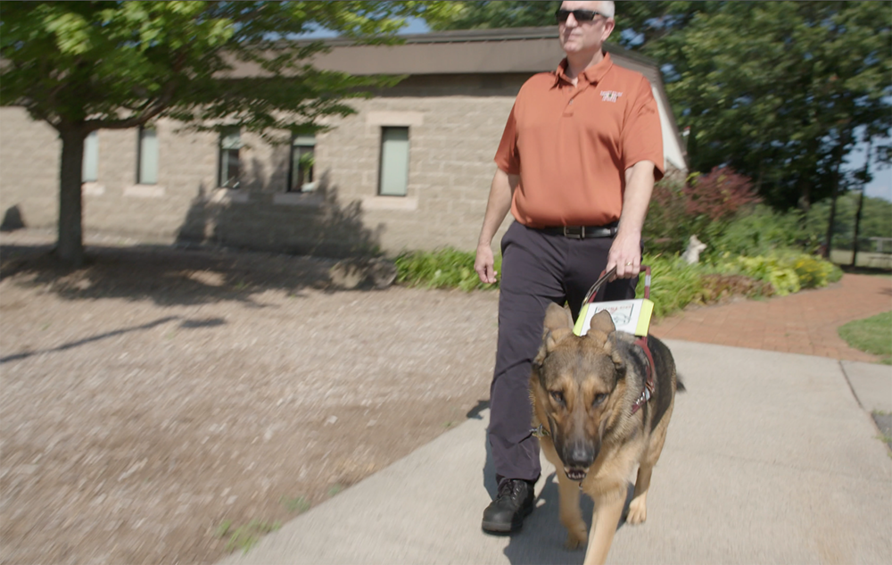 Providing vision-impaired veterans with the guide dogs they need. - We're grateful we can help Fidelco as they do so much for men and women who have given so much to their country.