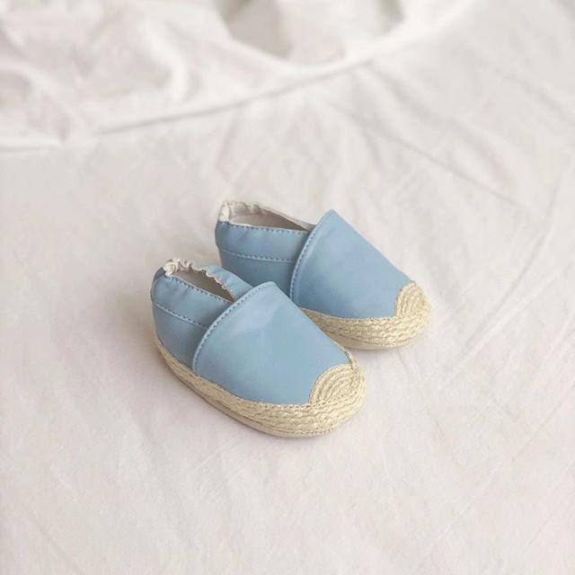 Blue espadrilles :: new color! 👀