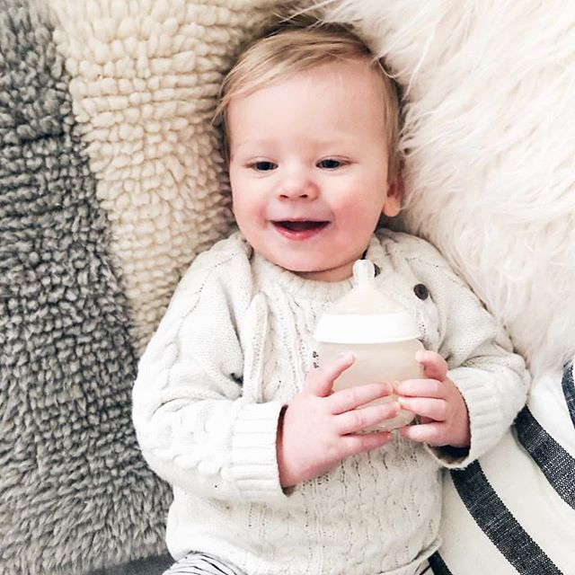 Meet Ollen who just turned one and is the creation of @fallfordiy the best DIY curator. #instamoms