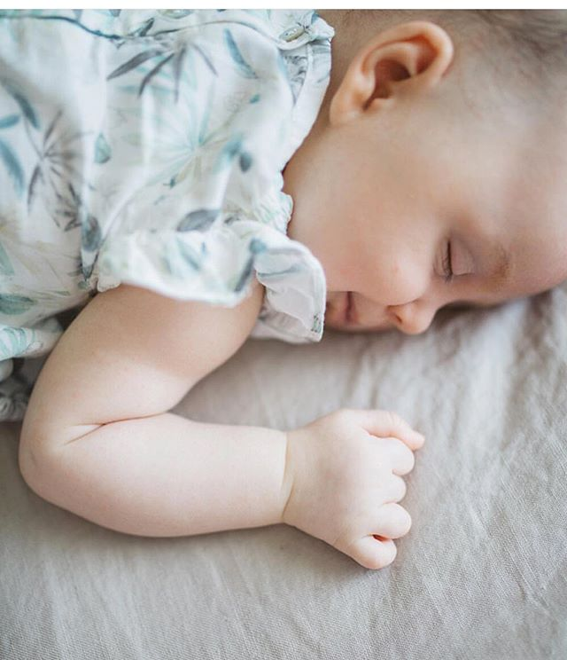 Sleeping like and angel by @Sweetmomes