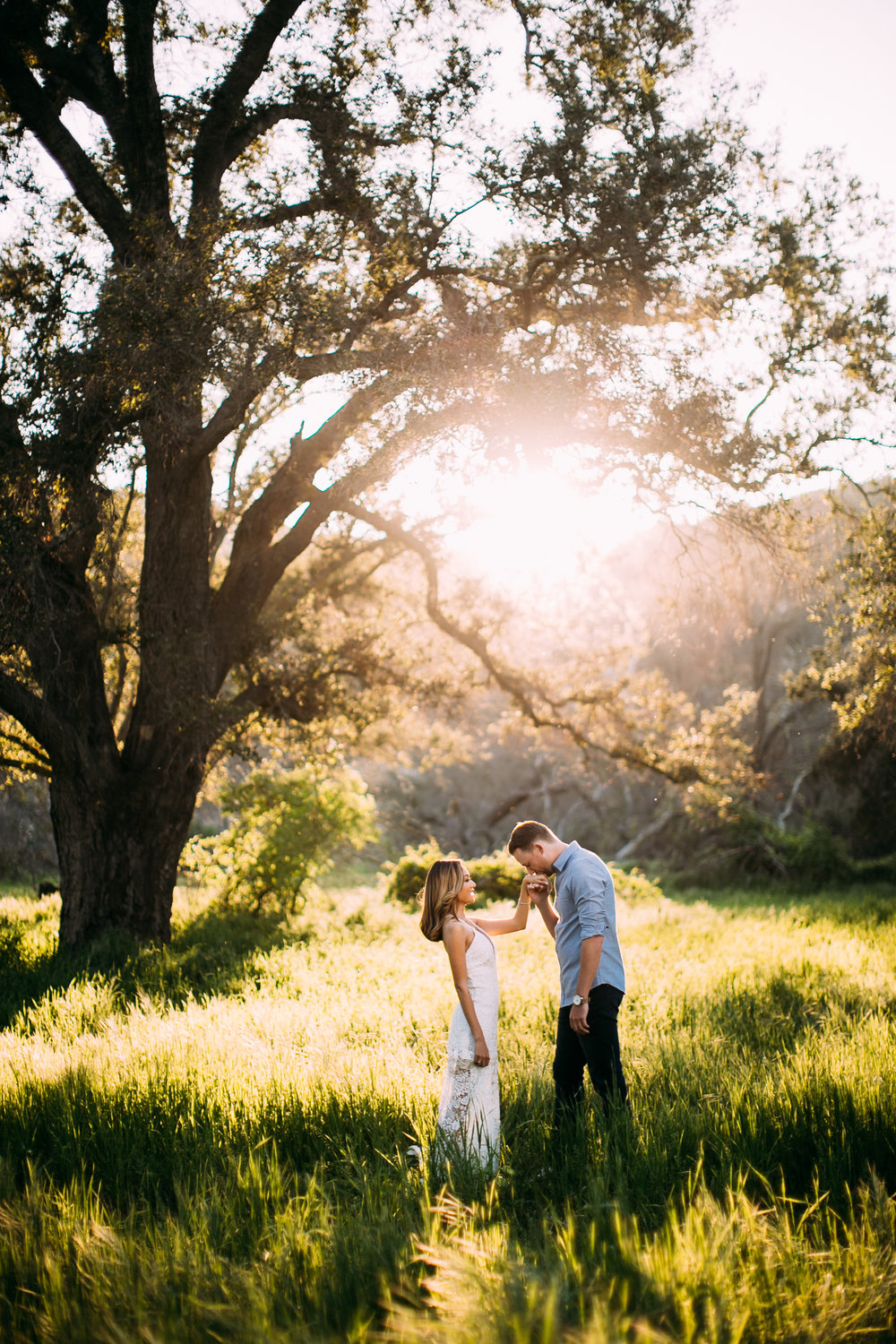 Caspers Park Engagement Session