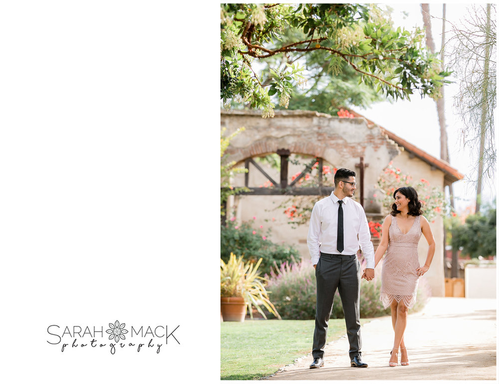 Mission San Juan Capistrano Engagement Photography