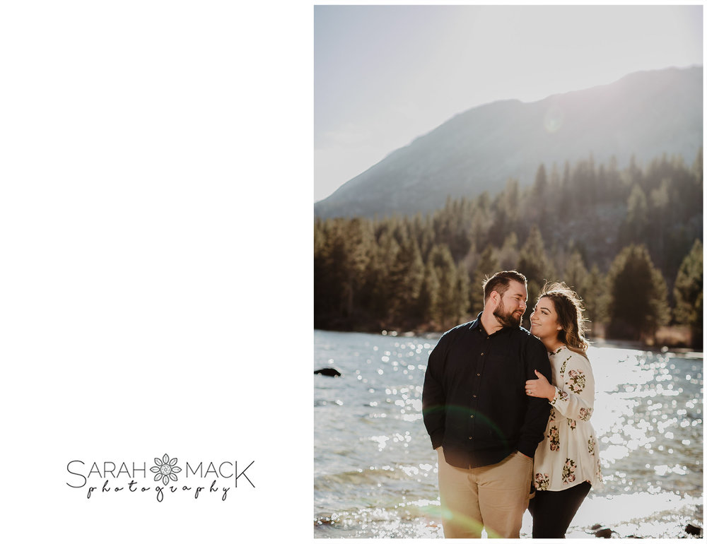 Rock Creek Lake Mammoth Engagement Photography