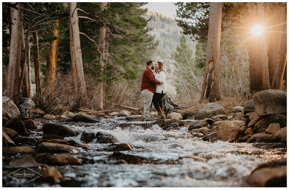 Rock Creek Lake Mammoth Engagement