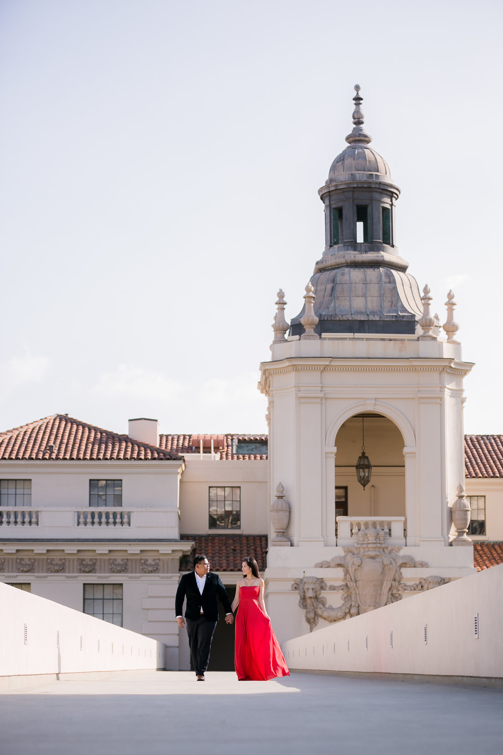 Pasadena City Hall Engagement, Los Angeles Engagement,