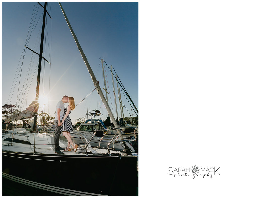 Dana Point Harbor Engagement Photography