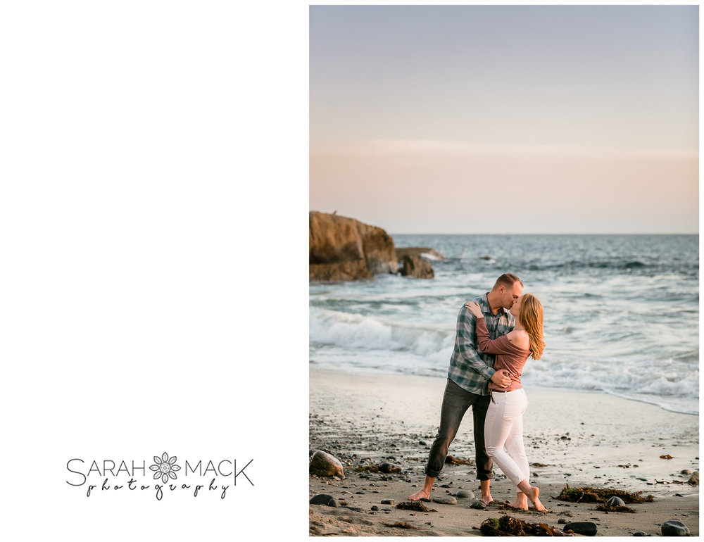 Dana Point Beach Engagement Photography