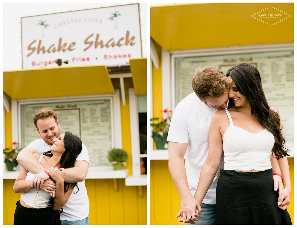 Crystal Cove Newport Beach Engagement Photography