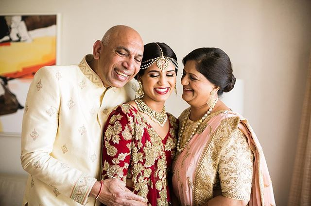 All you need is love... love.. love is all you need.  This family is filled to the brim with love! It radiates around them like sunshine! Remember to spread some love today! . Venue: @dtreepalmsprings Planner: @ajitachopraevents