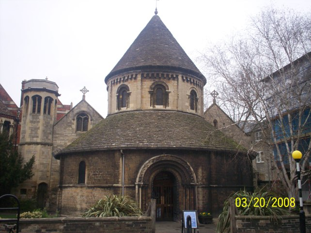 Cambridge Round Church in England