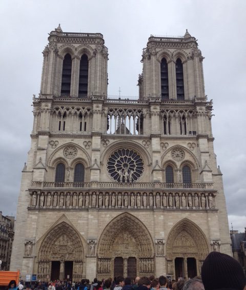 Notre Dame Cathedral _ Front