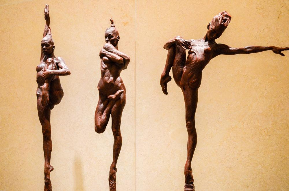 Richard MacDonald sculptures 1