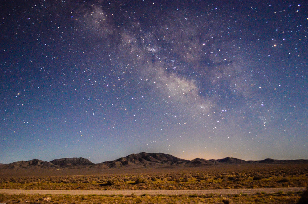 The milky way right outside Area 51, Nevada