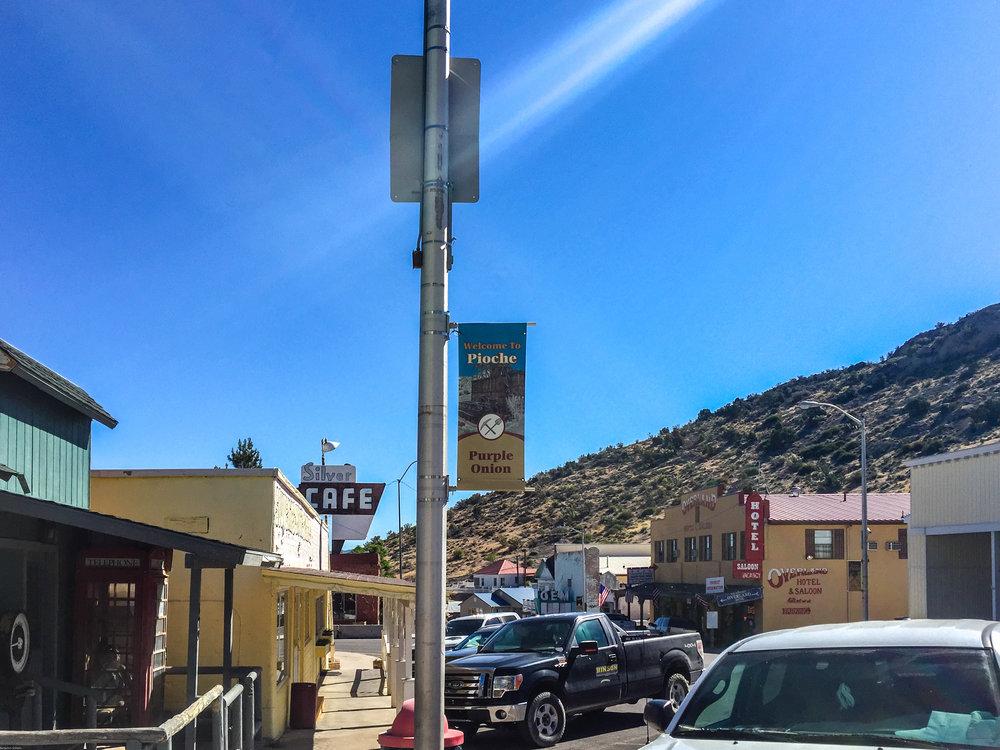 Pioche and Historic Silver Cafe, Nevada