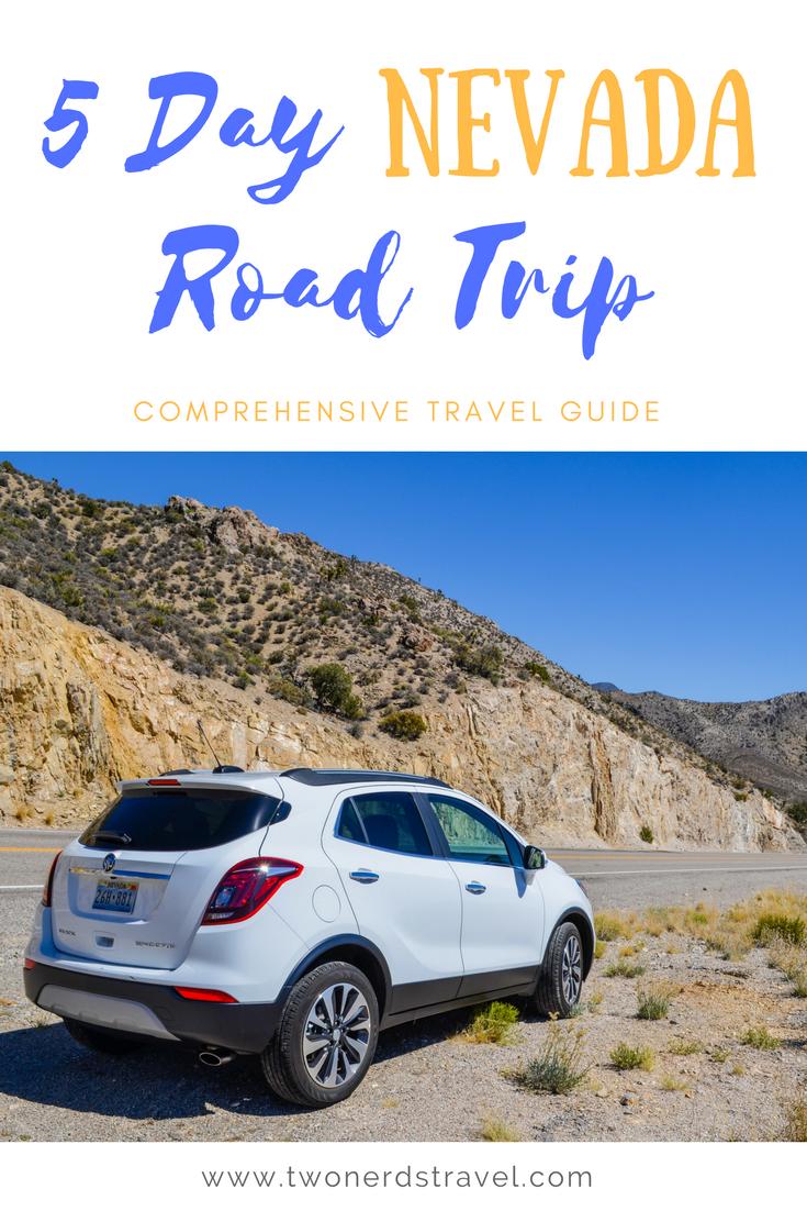 Nevada road trip pinterest