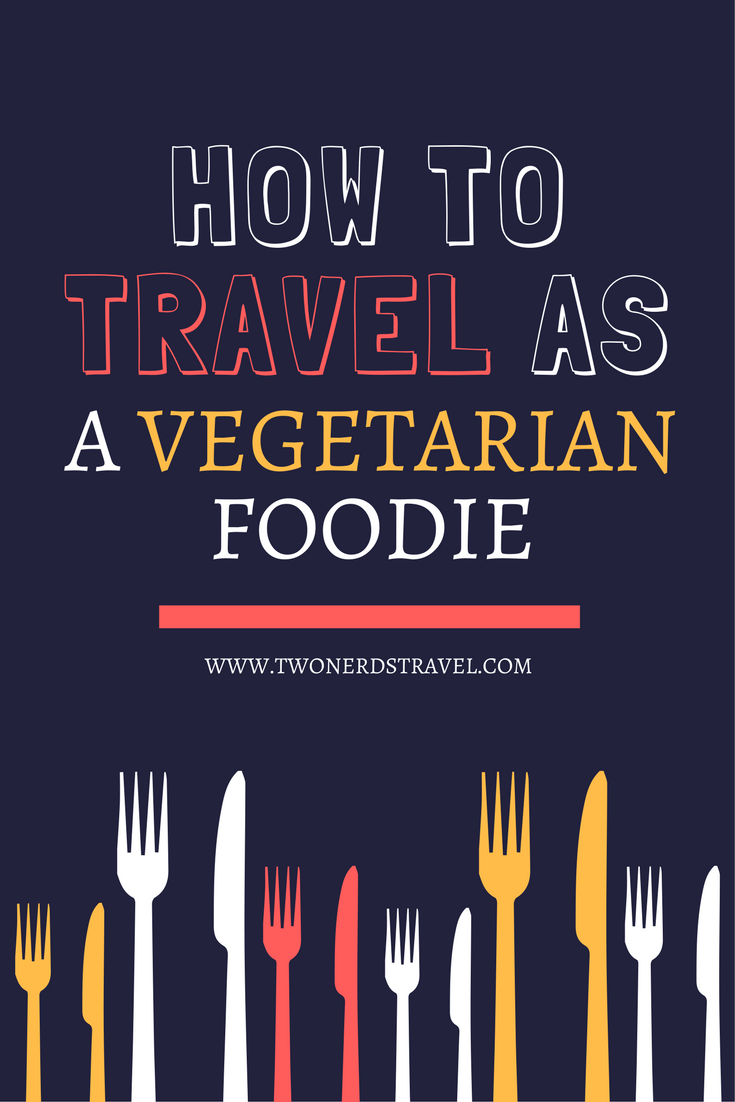 vegetarian foodie pin