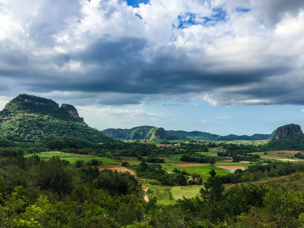 The mogotes we overlooked in Viñales