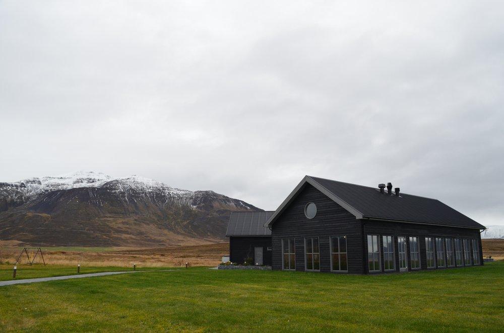 Bjórböðin from the outside