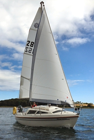 Leisure 17SL 'Shearwater' on Strangford Lough