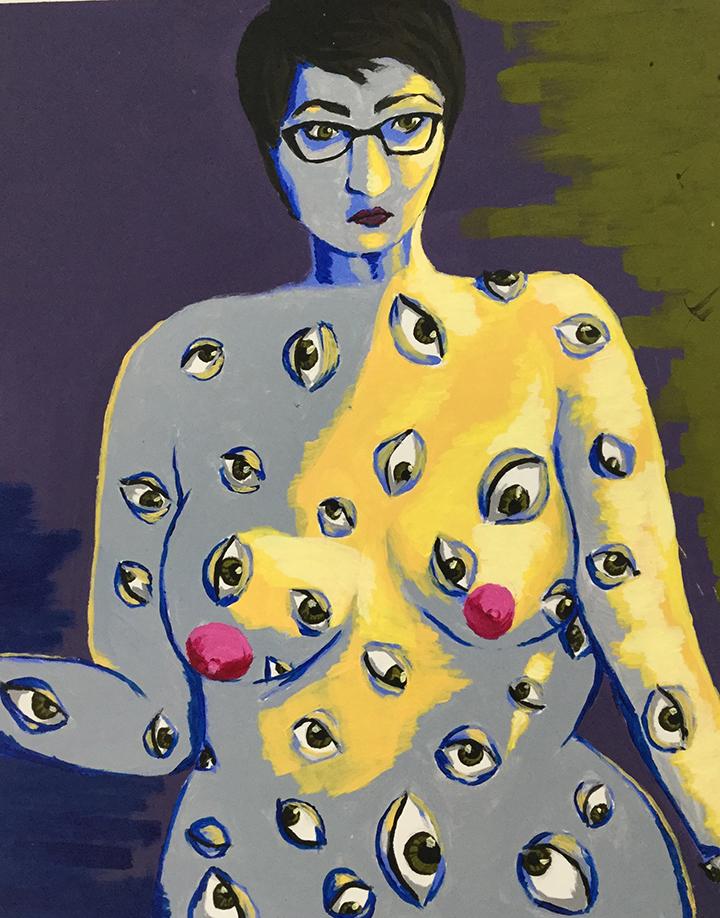 Expressionism-Self Portrait