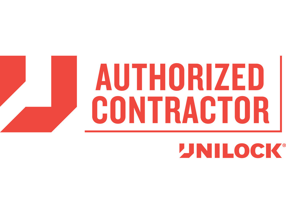 Professional Unilock Authorized Contractor for front yard landscaping in Sharon MA