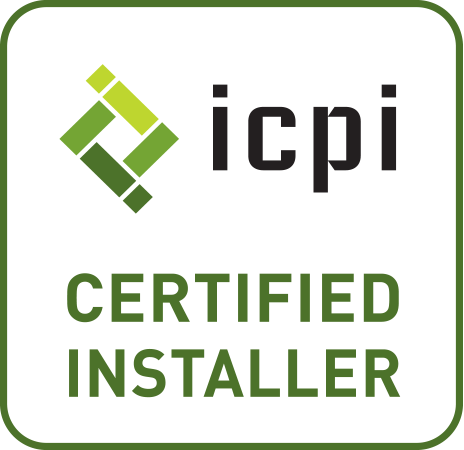 ICPI certified front yard landscaping company in Sharon Massachusetts
