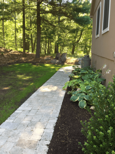 Experienced walkway design and builders in Weston, MA.