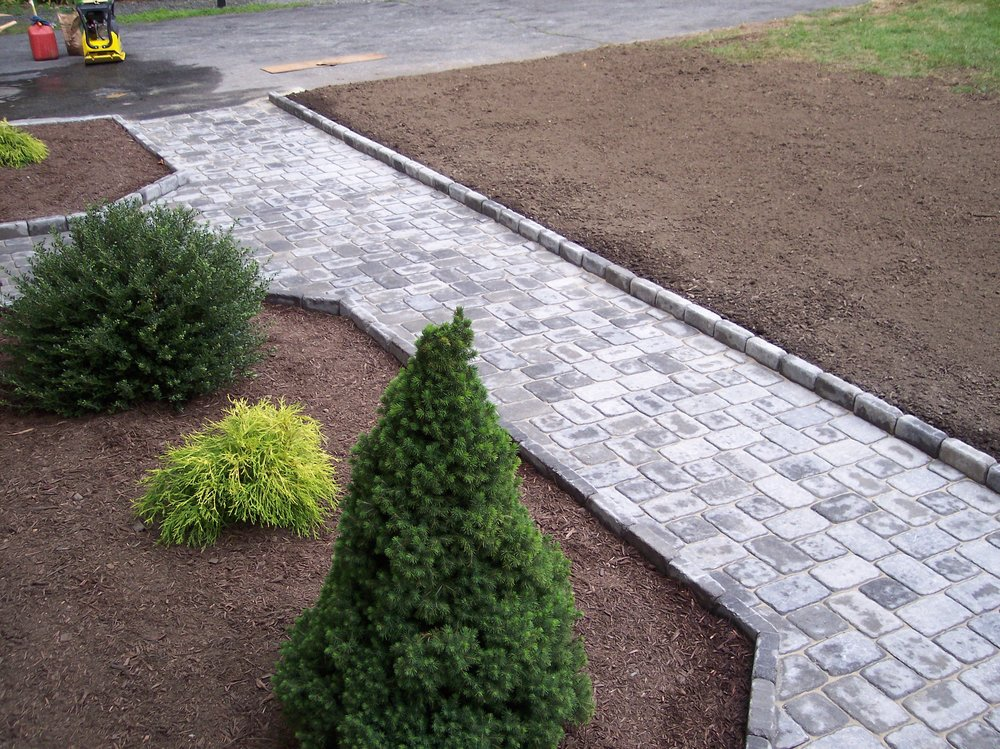 Experienced walkway design services in Weston, MA.