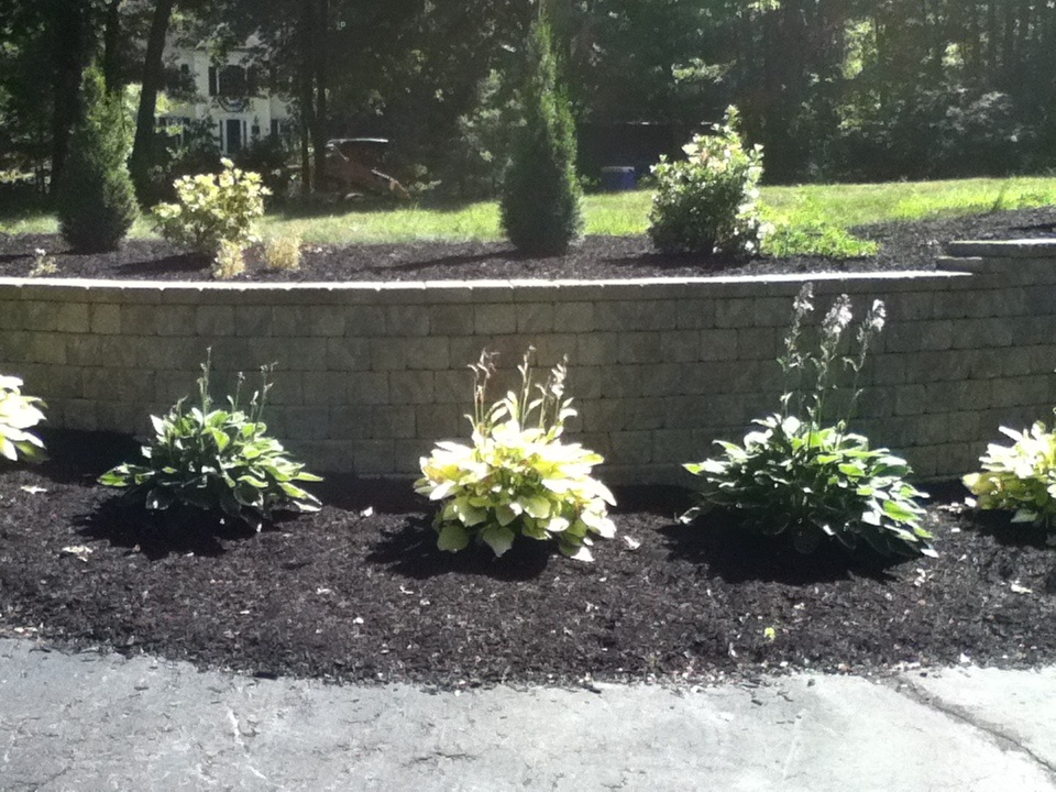 Experienced retaining wall build services in Newton, MA.