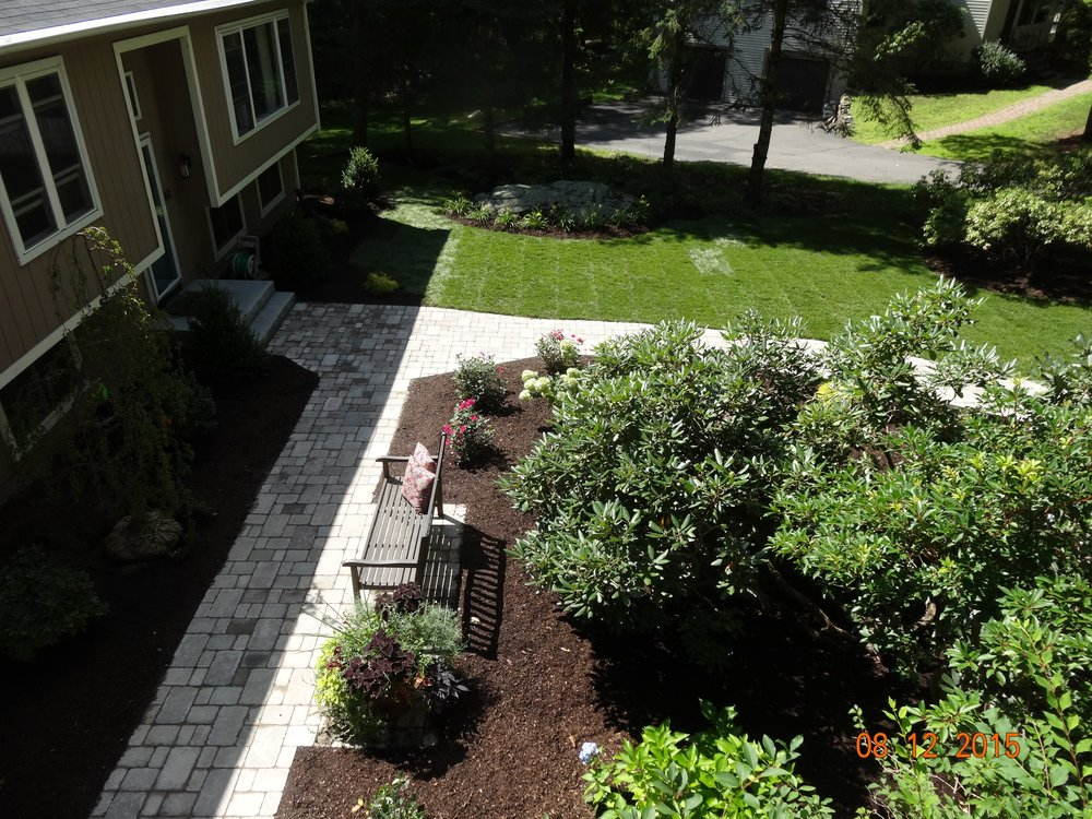 Professional landscaping services in Newton, MA.