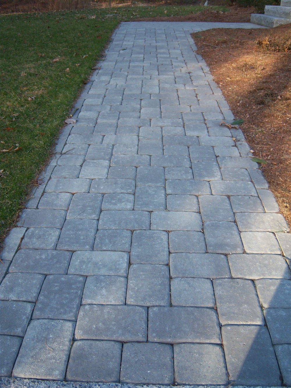 Professional walkway design and build in Wellesley Massachusetts