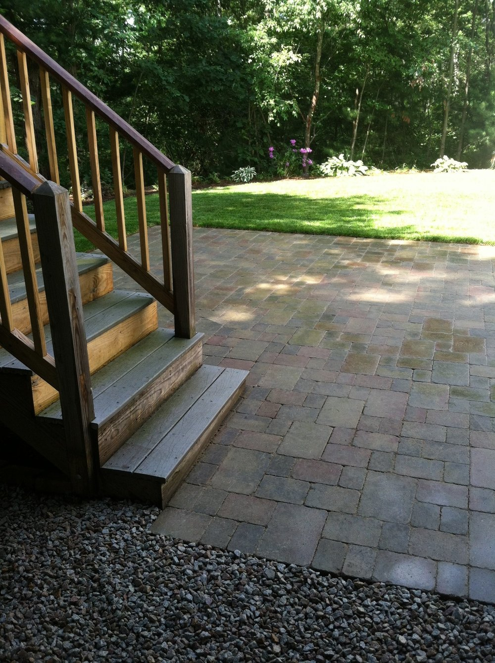Experienced patio installation in Norfolk Massachusetts
