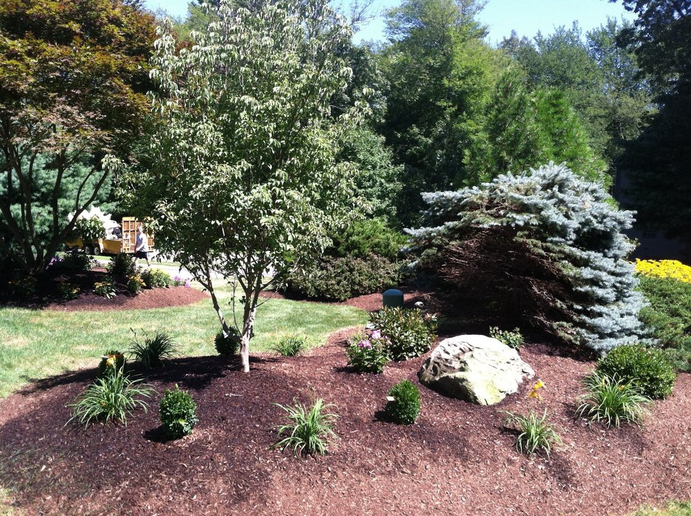 Landsape maintenance and excavation companies in Newton Massachusetts