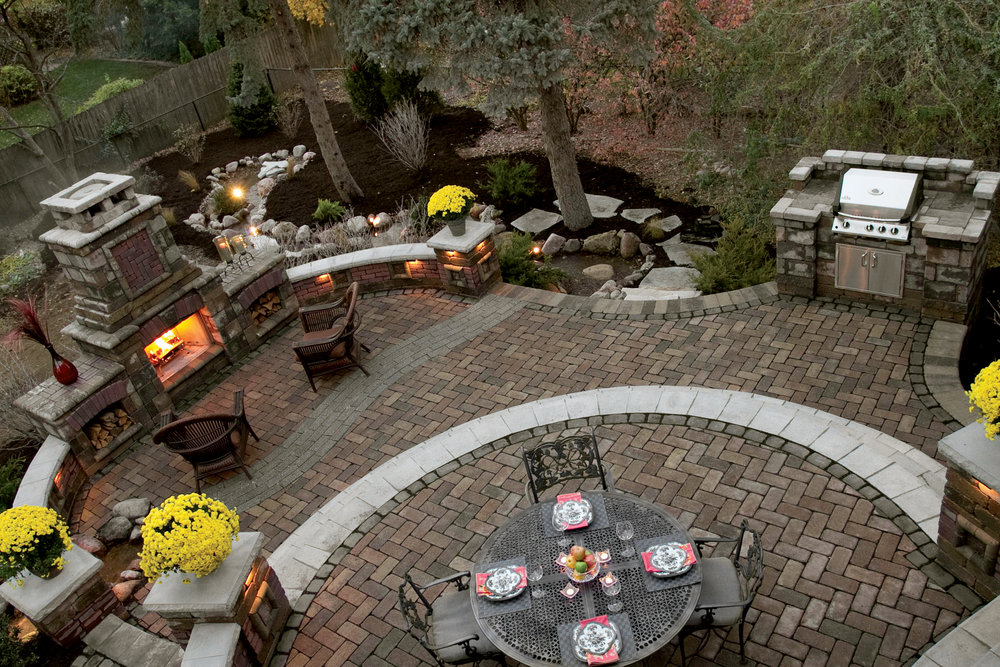Complete Your Millis, MA, Landscape Design with Beautiful Outdoor Dining Space