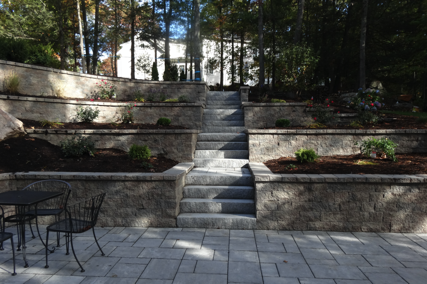 4 Retaining Wall Ideas For Your Sloped Wellesley Ma Yard