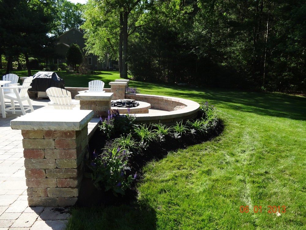 Eye-Catching Patio Installation Ideas for Big Backyards in Sudbury, MA