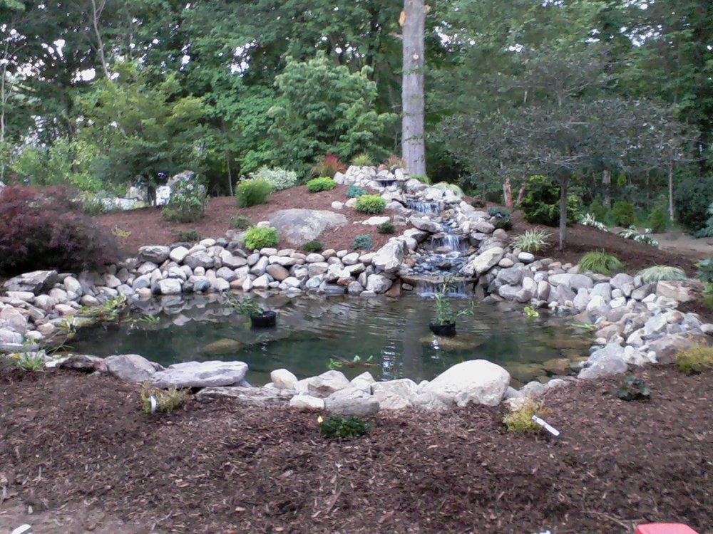 Perk Up Your Chestnut Hill, MA, Landscape Design with Stunning Waterfalls and Ponds