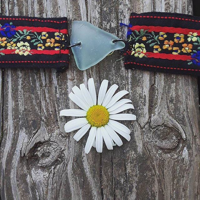 Grab one of these super cool #chokers from @eure3ka this Sunday July 13th on the patio! #woodstock #outsiderart #bearsville #catskills