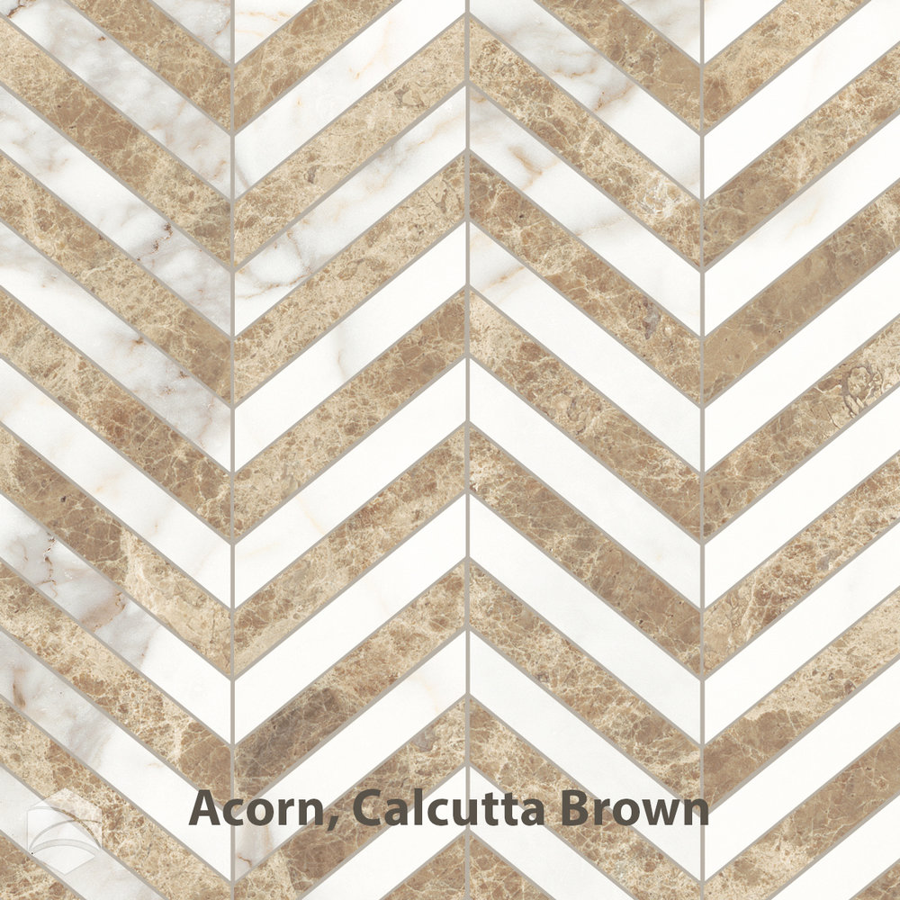 Acorn, Calcutta Brown_chevron_V2_12x12.jpg
