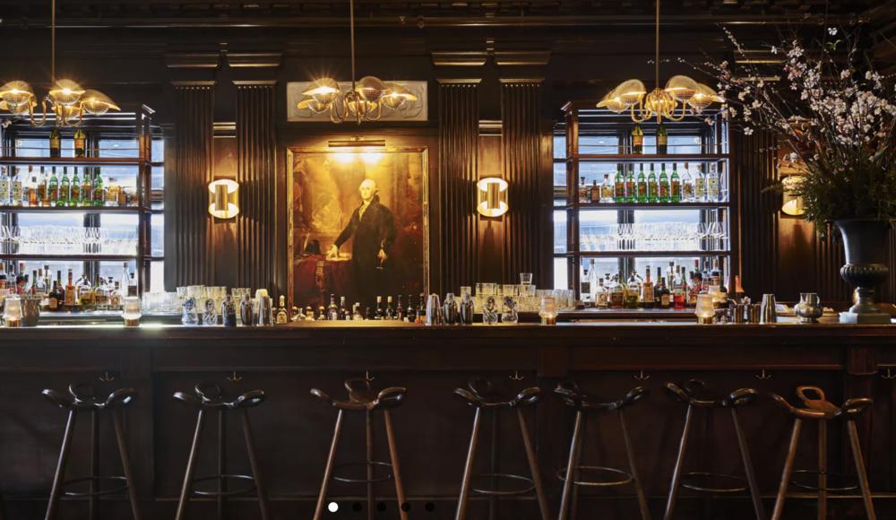 GEORGE WASHINGTON BAR @FREEHAND HOTEL. - NEW YORK   Flatiron