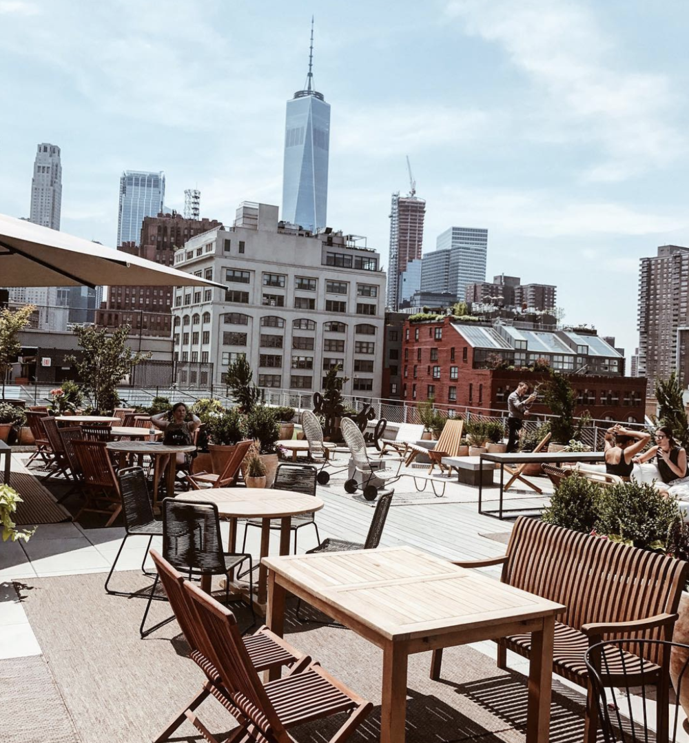 SPRING PLACE TERRACE. - NEW YORK