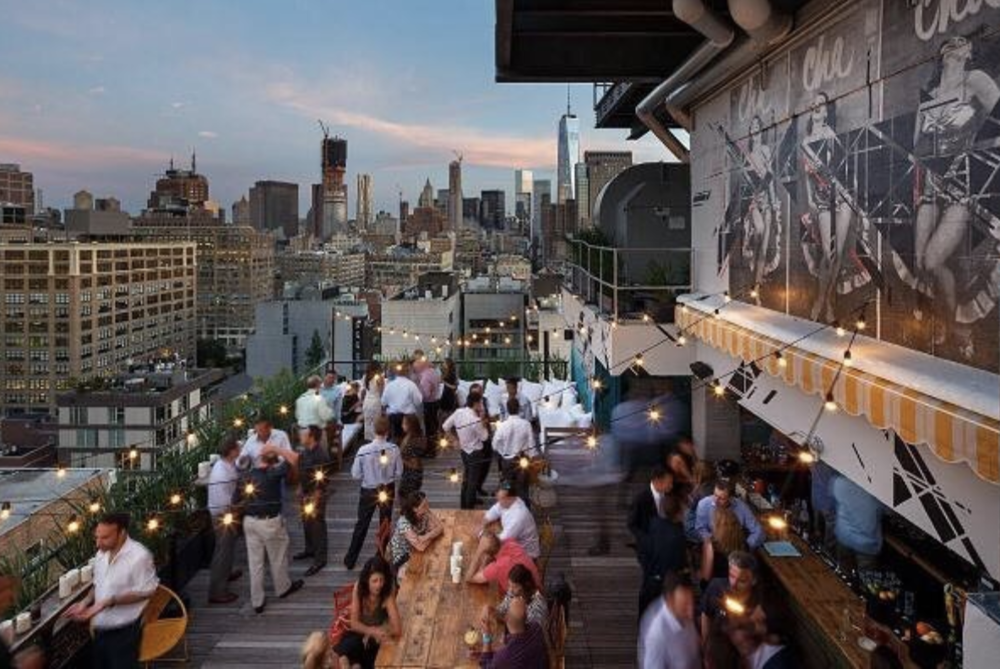 AZUL ON THE ROOFTOP. - NEW YORK