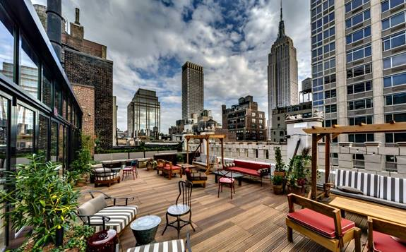 REFINERY ROOFTOP. - NEW YORK