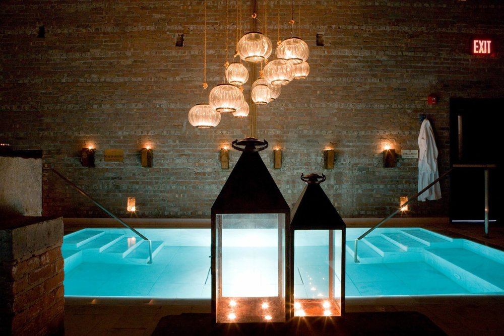 AIRE ANCIENT SPA. - NEW YORK
