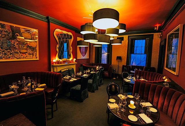 THE RESTAURANT. - The Club House