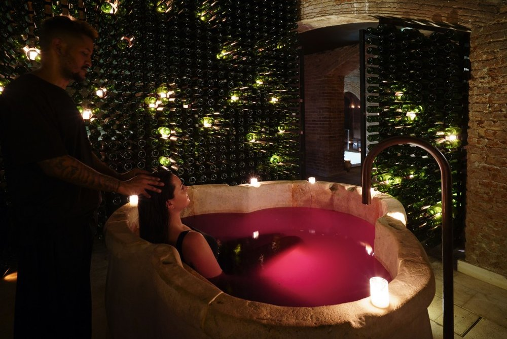 WINE BATH EXPERIENCE. - NEW YORK