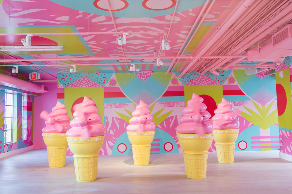 MUSEUM OF ICE CREAM. - MIAMI, LOS ANGELES, SAN FRANCISCO