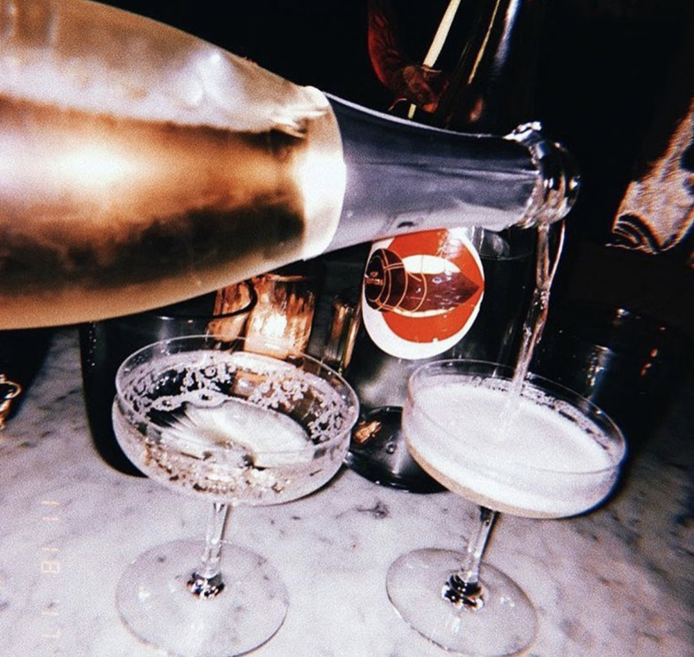 AIR'S CHAMPAGNE PARLOR. - NEW YORK
