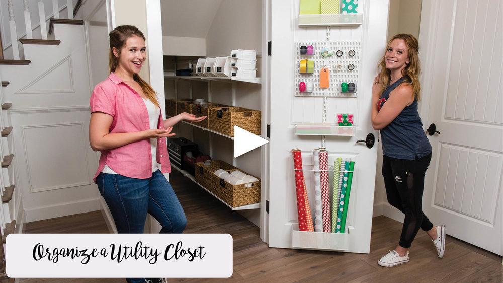 How To Organize A Utility Closet