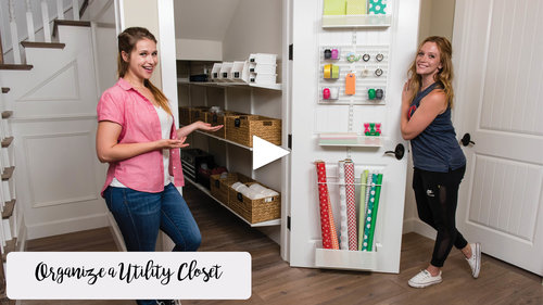 How To Organize A Utility Closet